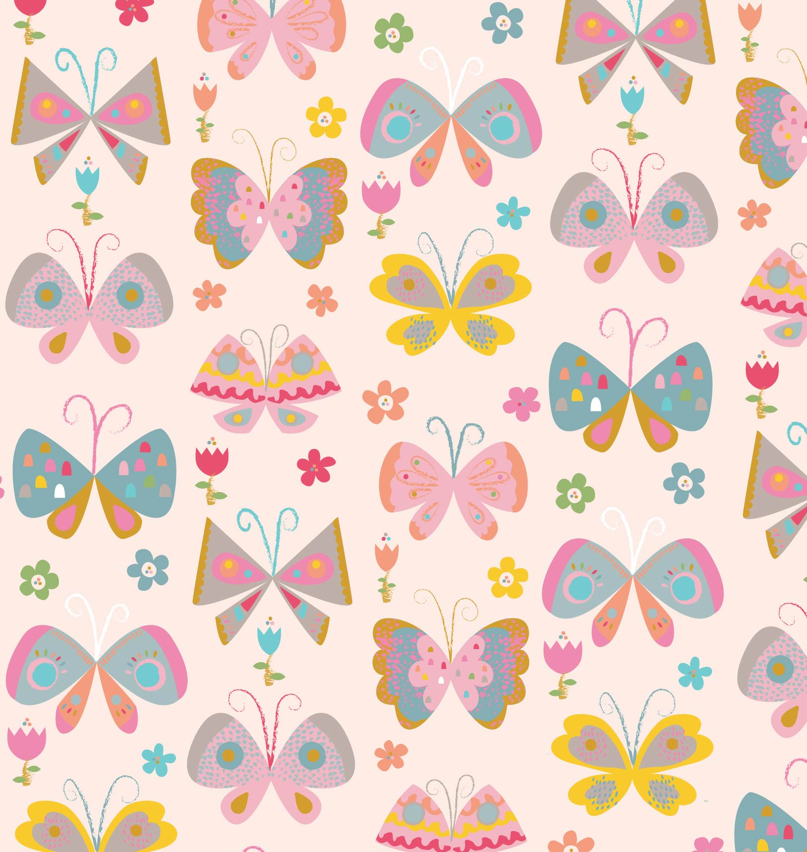 Butterfly Pattern Magnificent Inspiration Design