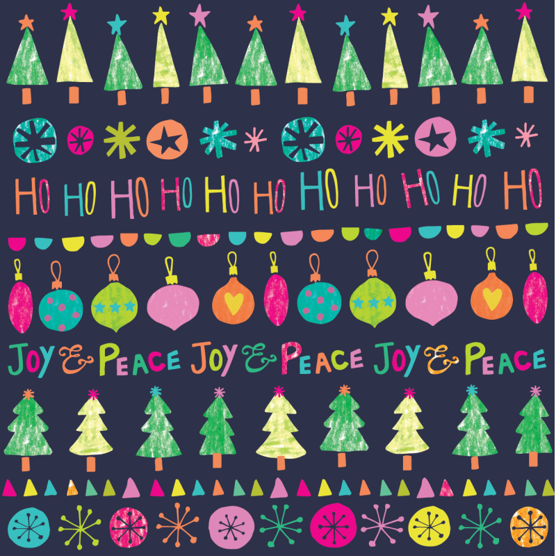 Ho Ho Ho Christmas Wrap